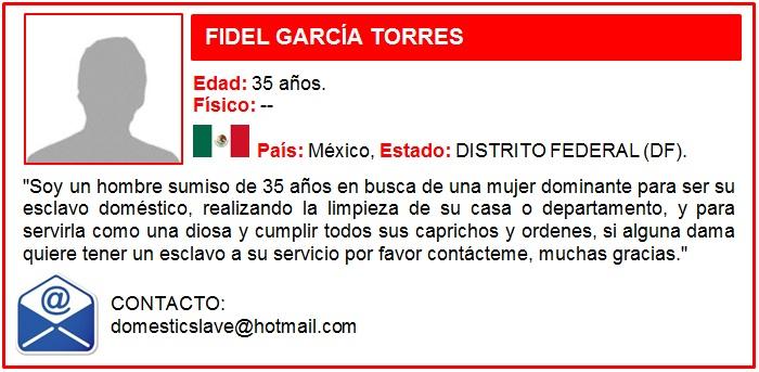 SUMISO FIDEL GARCIA TORRES