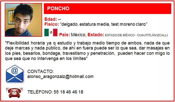SUMISO PONCHO FEMDOM
