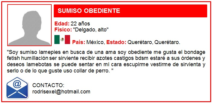 SUMISO OBEDIENTE